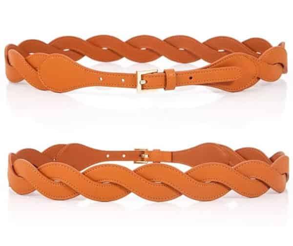 Women's braided belt