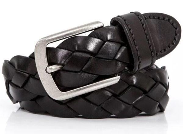 men's braided belt 142629