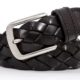 men's braided belt 142629