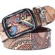Men's Printed Belt 129